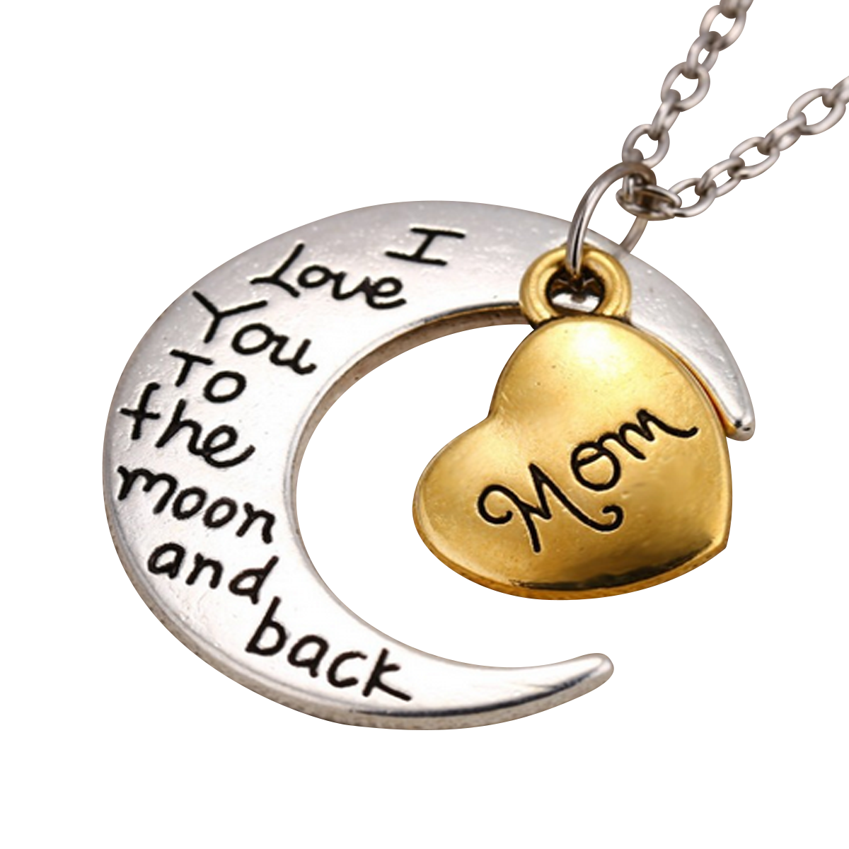 """""""I Love You to the Moon and Back"""" Pendant Necklace - My ..."""