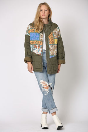 Quilt Playin Games Jacket
