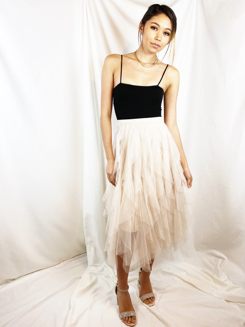 Tulle Cool for School Midi