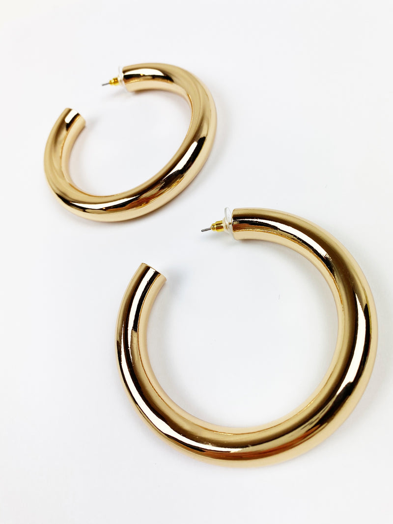 Thicky Thick Hoops - Gold
