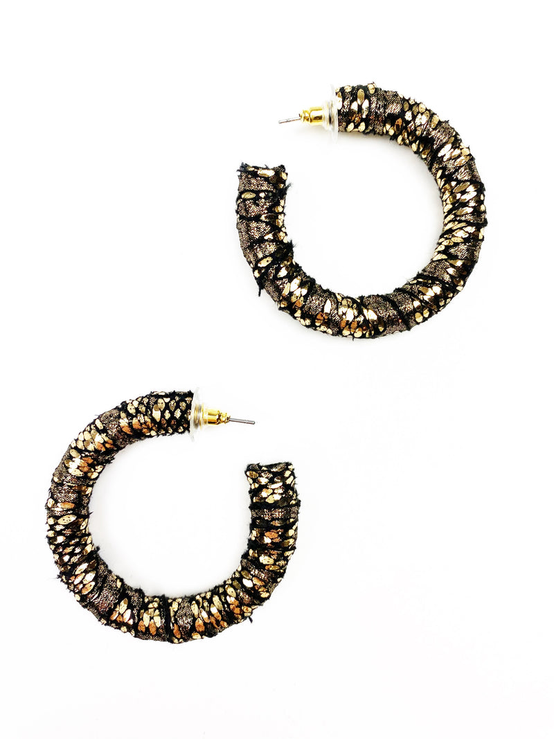 Phyllis Earrings - Black
