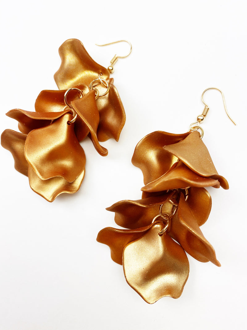 Goldschlager Earrings - Rose Gold