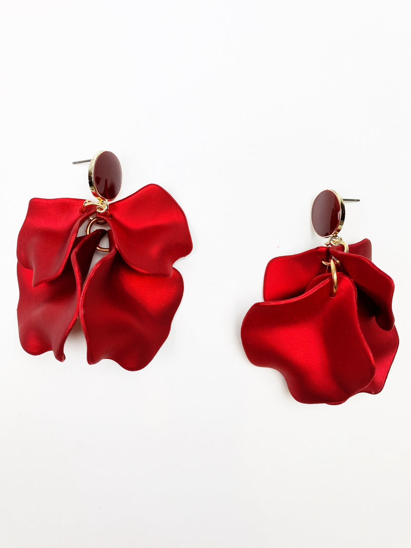 Accept This Rose Earrings