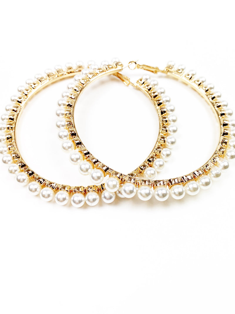 Pretty Little Pearlies Hoops - Mini