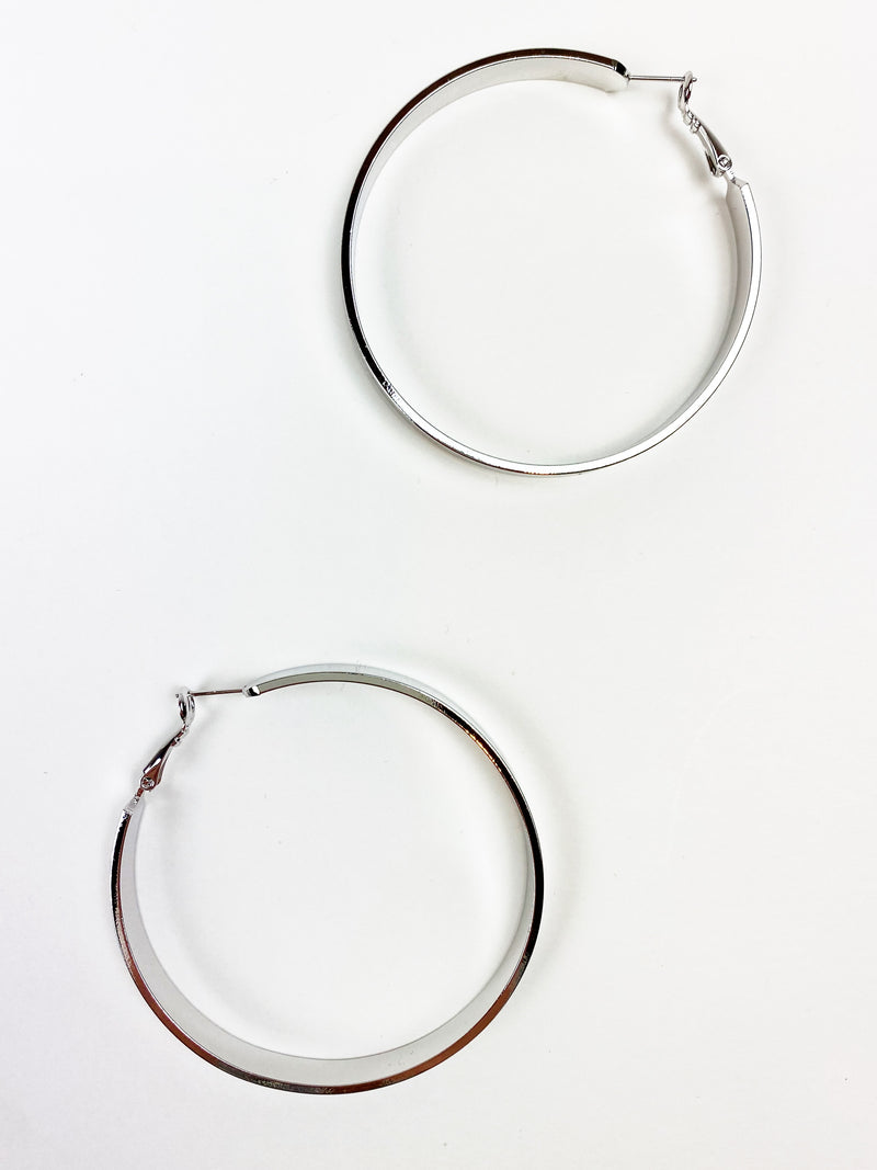 Lil Bling Thing Earring - Silver