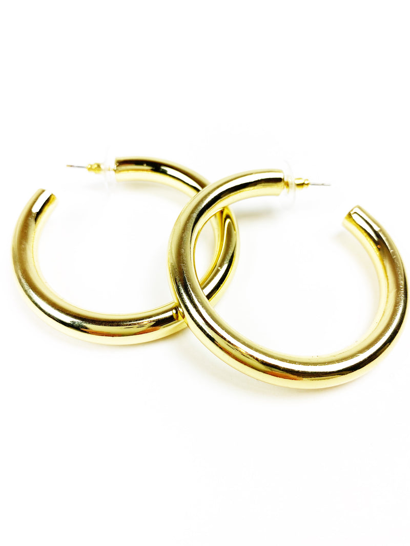 Thicky Thick Mini Hoops - Gold