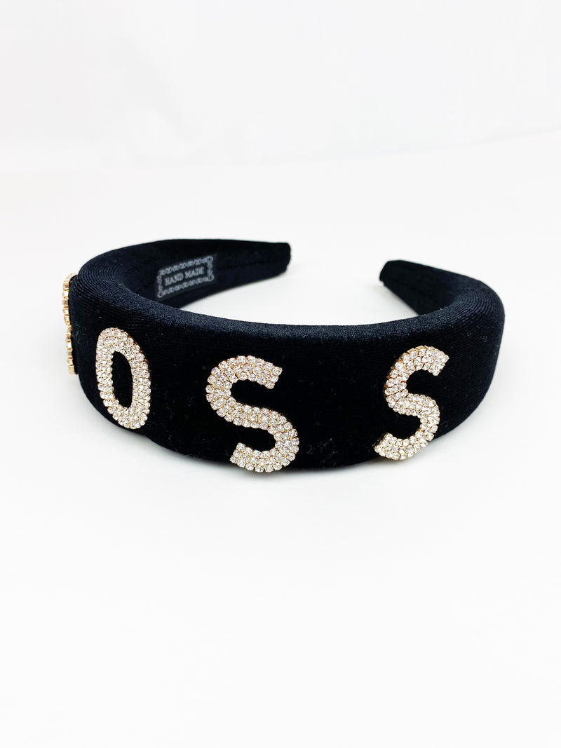I'm the BOSS Headband