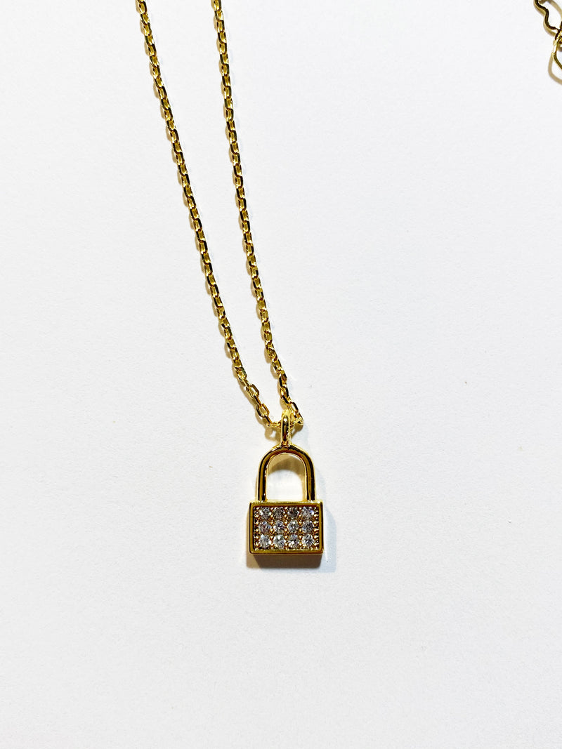 Lock Me Up Necklace