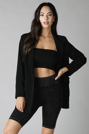 Classic Bandeau Top - Black ONLINE ONLY