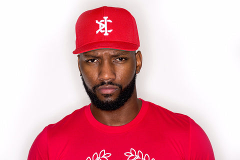 Krown City Signature Snap-Back - RED