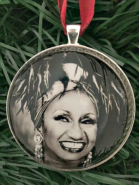 Celia Cruz Ornament