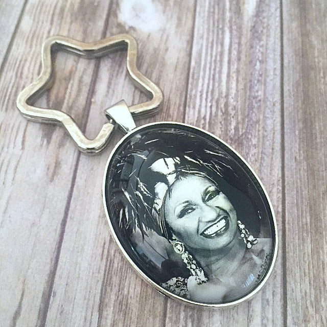 Celia Cruz Key Chain
