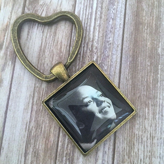 Nikki Giovanni Key Chain