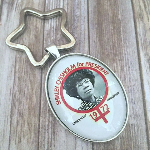 Shirley Chisholm Key Chain