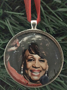 Maxine Waters Ornament
