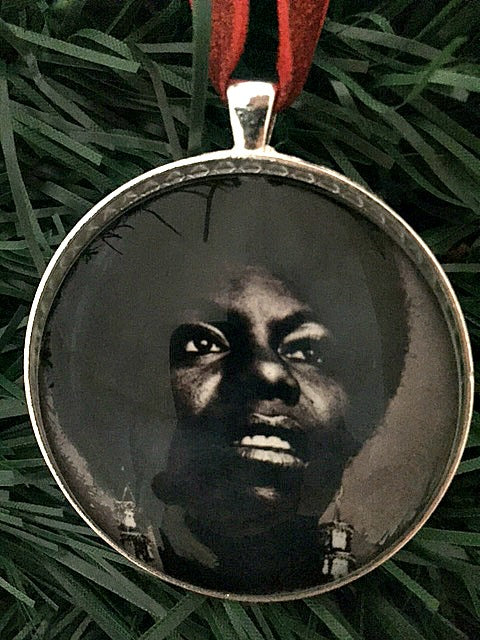 Nina Simone Ornament