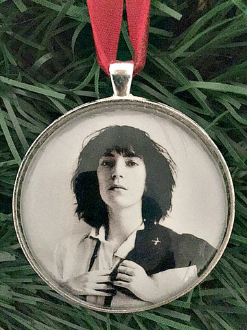 Patti Smith Ornament