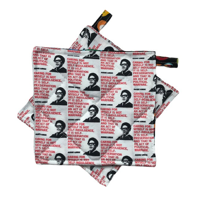 Audre Lorde Pot Holders