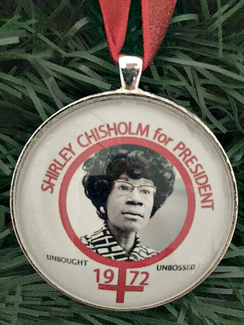 Shirley Chisholm Ornament