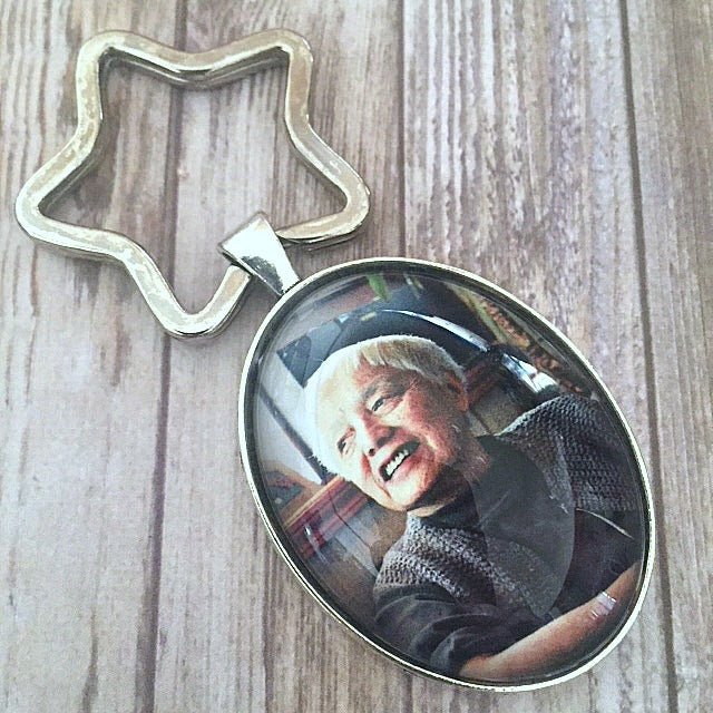 Grace Lee Boggs Key Chain