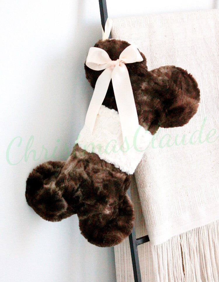 Fur Christmas Stockings for Dogs