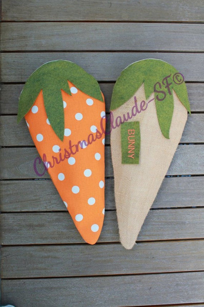 The Carrot Christmas Stocking
