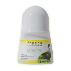 100% Natural Deodorant Citrus Fresh (Unisex)