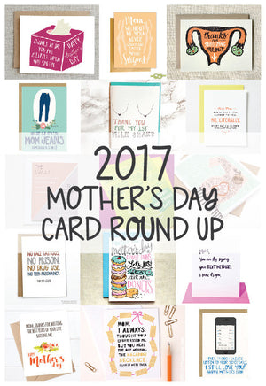 2017 Mother's Day Card Round Up by Little Lovelies Studio