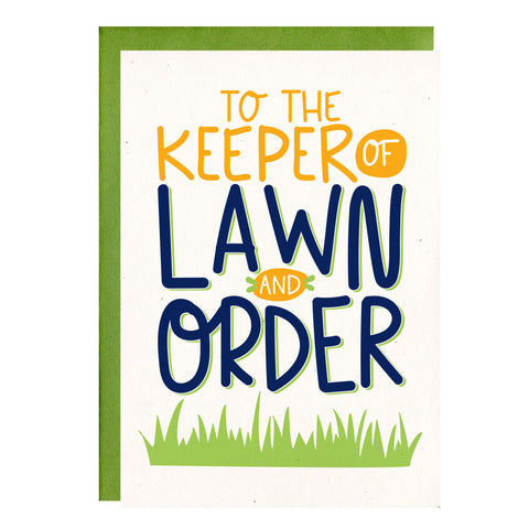 Keeper of Lawn & Order by Little Lovelies Studio