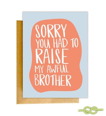 Sorry by Knotty Cards