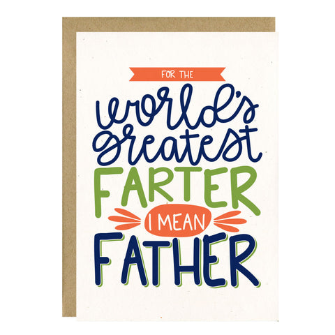 World's Greatest Farter by Little Lovelies Studio