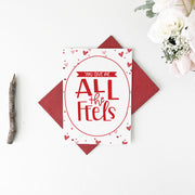 All The Feels Greeting Card - Little Lovelies Studio - 2