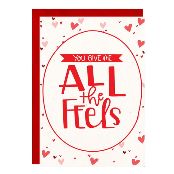 All The Feels Greeting Card - Little Lovelies Studio - 1