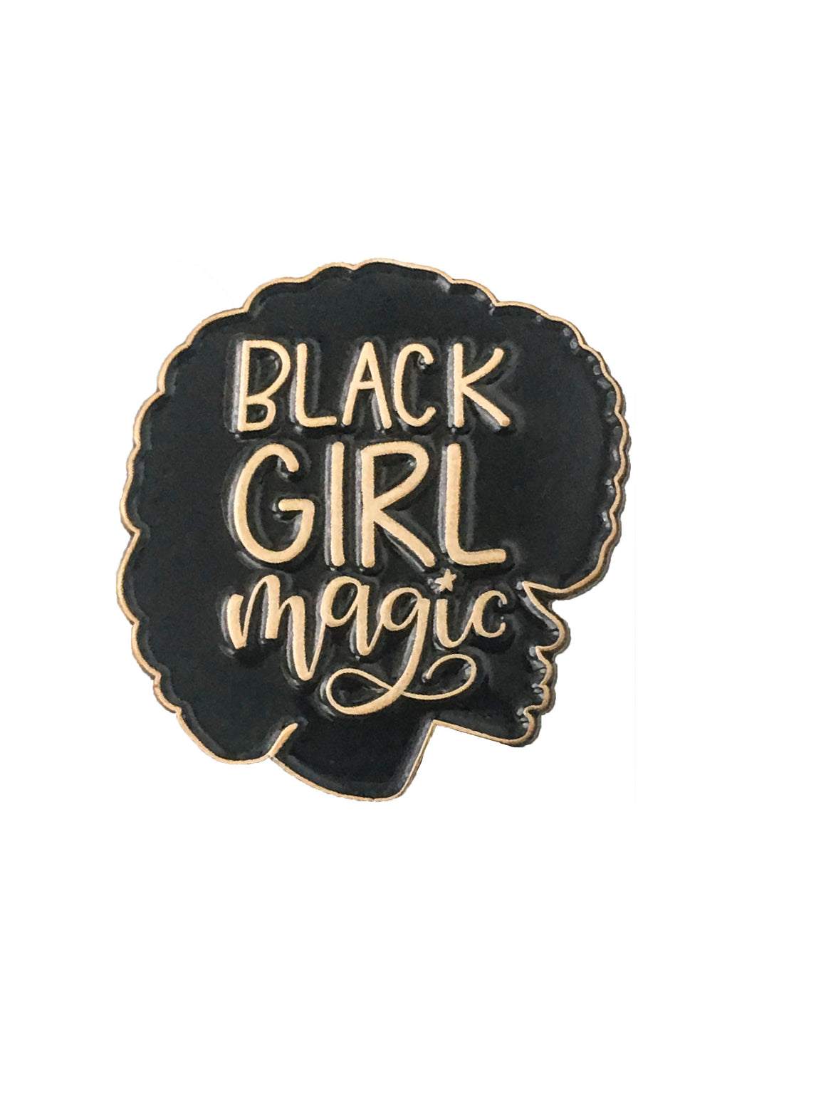 Black Girl Magic Enamel Pin