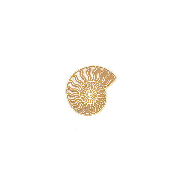 Ammonite Enamel Pin