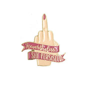 Nevertheless She Persisted Pin