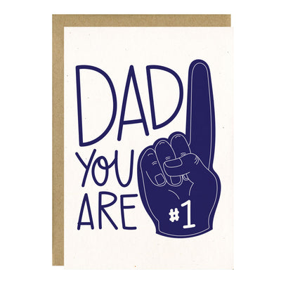 Dad You Are #1 Card