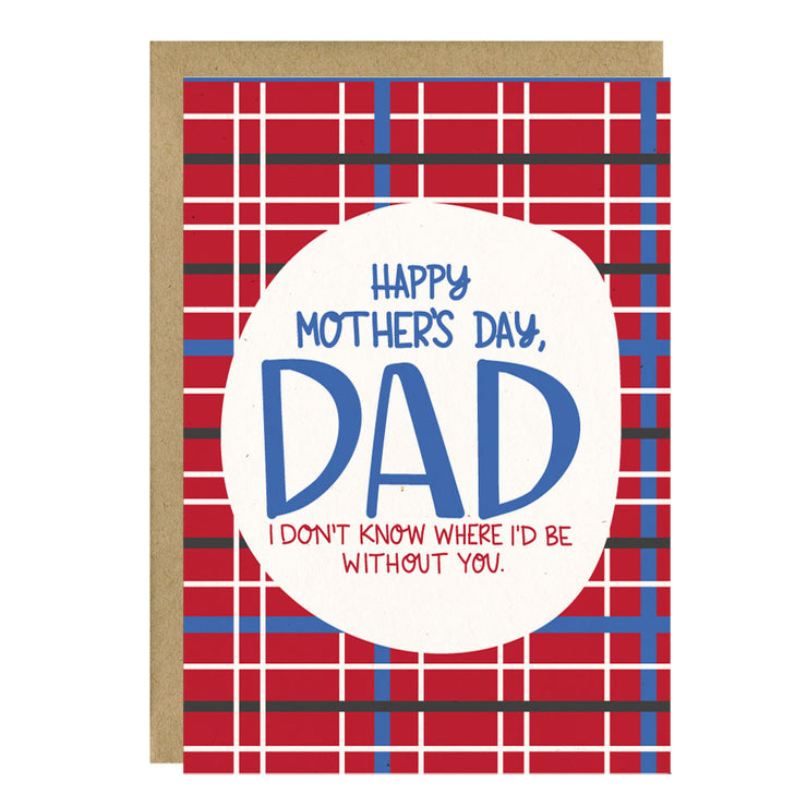 Happy Mother's Day, Dad Greeting Card - Little Lovelies Studio - 1
