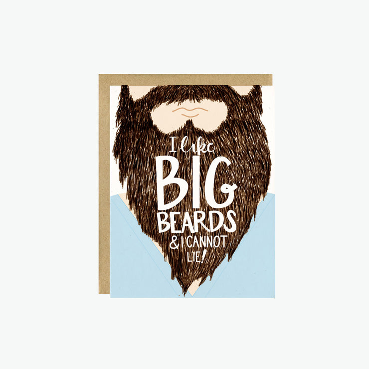 I Like Big Beards Card