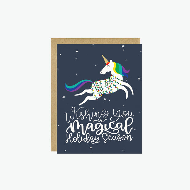 Magical Holiday Season Card