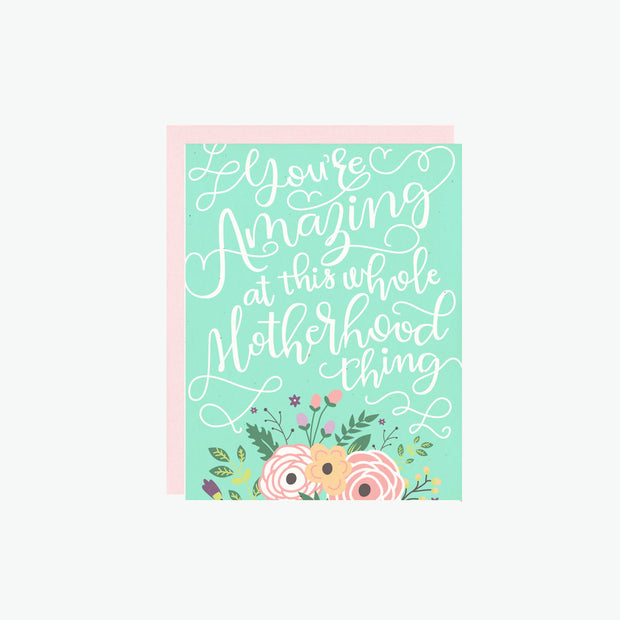 Motherhood Thing Card