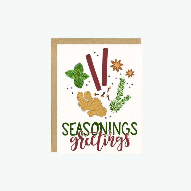 Seasonings Greetings Card