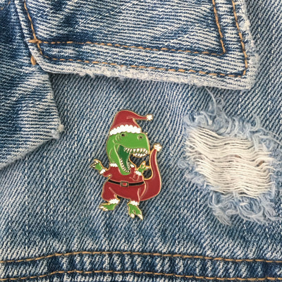 Santa Claws Pin