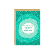 Twenties Are Over Birthday Card