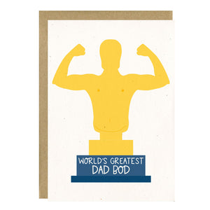 World's Greatest Dad Bod by Little Lovelies Studio