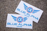 Blue Alpha Gear Swag Pack