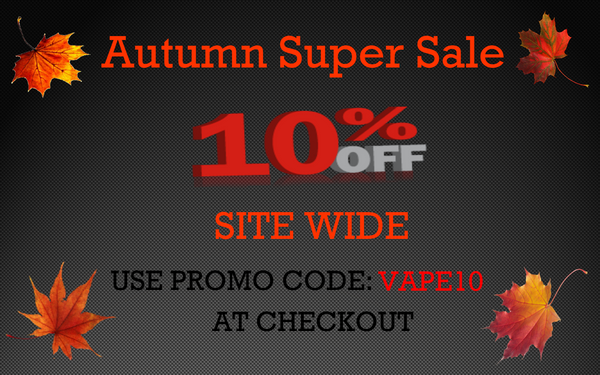 Autumn 10% Off