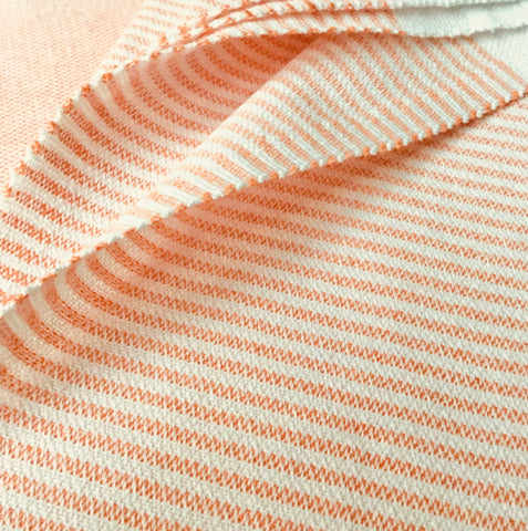 Turkish Towel Orange Stripes