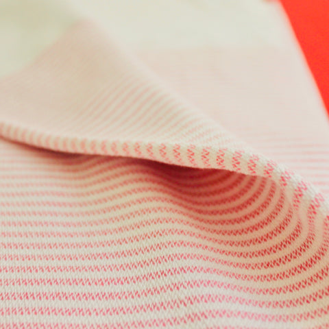 Zebuu Turkish Towel Pink Stripes