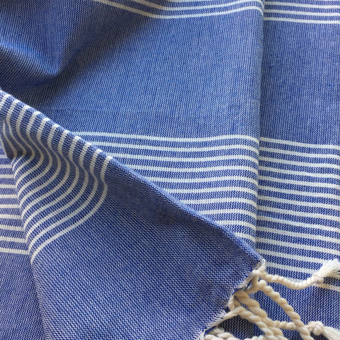 Zebuu Turkish Towel Blue